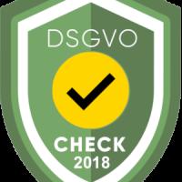 DSGVO-CHECK 2018 Siegel