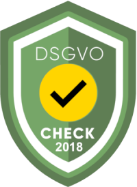 DSGVO-CHECK 2018 Siegel